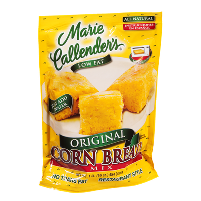 Marie Callender's Low Fat Original Corn Bread Mix