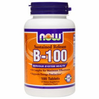 Now Foods NOW Foods - B-100 Sustained Release - 100 Tablets