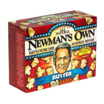 Newman's Own Gluten Free Butter Popcorn