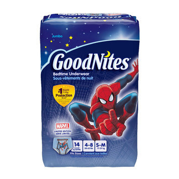 GoodNites® Bedtime Pants for Boys S/M