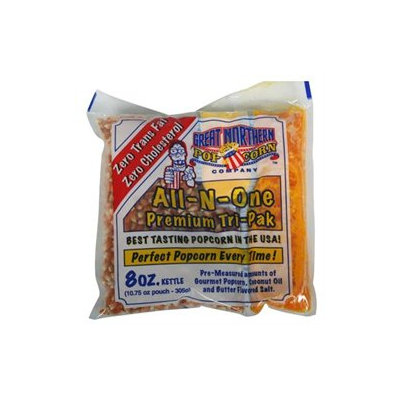 Great Northern Popcorn Eight Ounce Portion Packs (Case of 24)