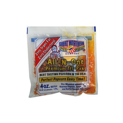 Dtx International Great Northern Popcorn Four Ounce Portion Packs (Case of 24)