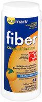 Sunmark Fiber Laxative Original Texture, Orange Flavor 19 oz by Sunmark
