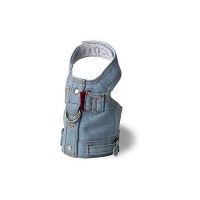 Doggles Dog Boutique Harness in Blue Jean Jacket