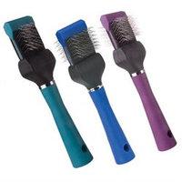 Pet Pals TP224 12 11 MGT Slicker Brush Double Flex Soft Purple