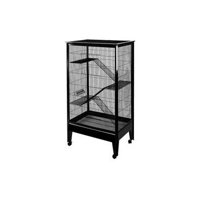 A & E Cage Co. Large 4 Level Small Animal Cage on Casters