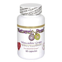 Nature's Pearl Nature's Pearl Premium Muscadine Grape Seed Supplement, 60-Count Bottle