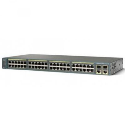 Cisco Catalyst C2960-48PST Fast Ethernet Switch