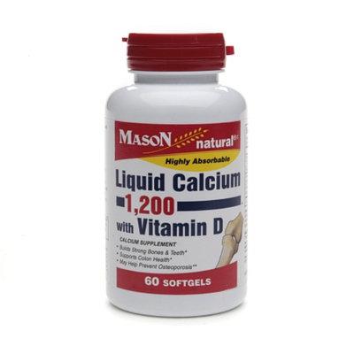 Mason Natural Liquid Calcium 1200 with Vitamin D