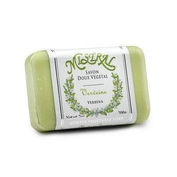 Mistral Shea Butter Soap, Verbena, 7-Ounce Bar