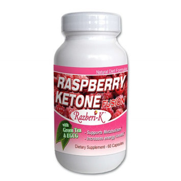 Fusion Diet Systems Raspberry Ketone Fusion Dietary Supplement Capsules