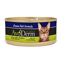 AvoDerm Naturals Ocean Fish Canned Cat Food, 5.5-Ounce (Pack of 8)