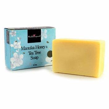 Wedderspoon Bar Soap Manuka Honey and Tea Tree 6.7 oz