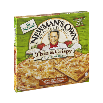 Newman's Own All Natural Thin & Crispy Buffalo Style Chicken Pizza