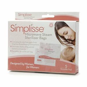 Simplisse Microwave Steam Sterilizer Bags