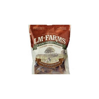 LM FARMS L/M Animal Farms DLM13677 Applewood Glazed Pig Ear Dog Chewing Strips, 8-Ounce