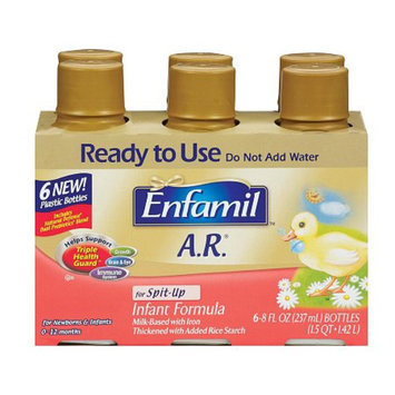 Enfamil A.R. Ready to Use 8 oz Bottles