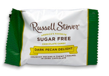 Russell Stover Sugar Free Dark Chocolate Pecan Delight