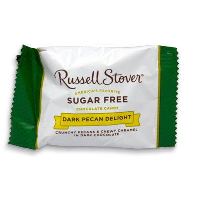 Russell Stover Sugar Free Dark Chocolate Pecan Delight