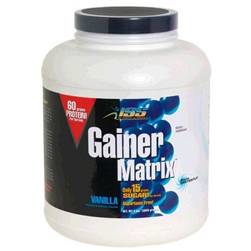 Iss Research ISS Gainer Matrix, Vanilla, 8-Pound Package