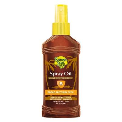Banana Boat Deep Tanning Oil Sunscreen Spray With SPF 8