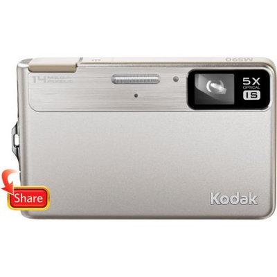 Kodak EasyShare M590 14 Megapixel Compact Camera - Silver