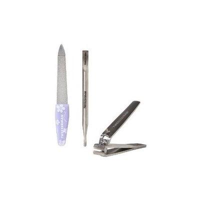 Tweezerman Floral Mini Manicure Kit (3-pack)