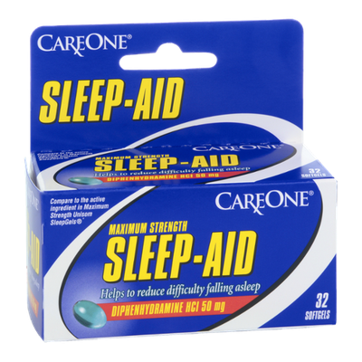 CareOne Maximum Strength Sleep-Aid