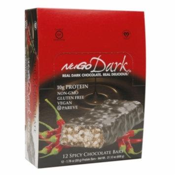 Nugo Dark NuGo Dark Natural Bars, Spicy Chocolate, 12 ea