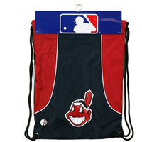 Concept One MLB Cleveland Indians Team Color Back Sack - School Supplies