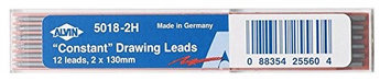Alvin Constant 2mm Drawing Lead 12-Pack HB