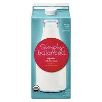 Simply Balanced Organic Whole Milk .5 gal