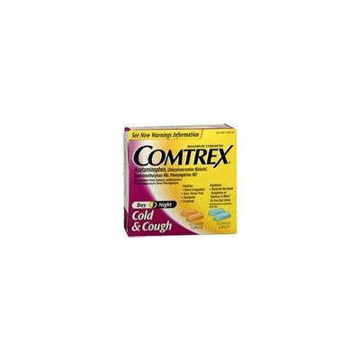 Comtrex Cold & Cough, Day & Night 24 Count Package