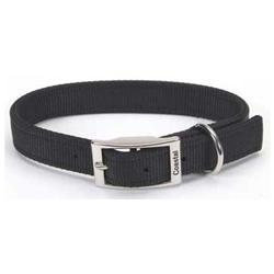 Coastal Pet Products DCP290122BLK Nylon Double Layer Collar