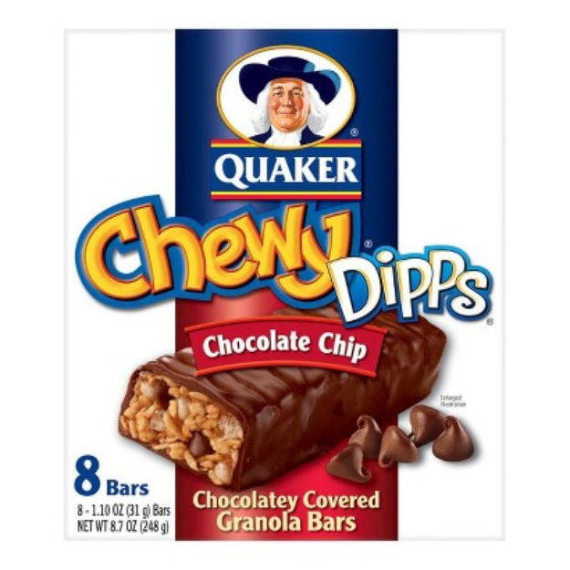 Quaker® Chewy Dipps, Chocolate Covered Chocolate Chip