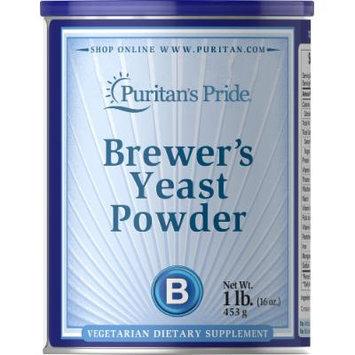 Puritan's Pride Debittered Brewer's Yeast Powder-16 oz Powder