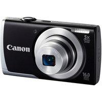 Canon Black PowerShot A2500 Digital Camera with 16 Megapixels