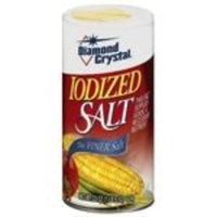 Diamond Salt Iodized 22 oz. (6-Pack)