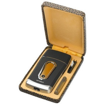 Optimus 50010 Rechargeable Pocket Palm Shaver with Titanium Coated Foil Screen