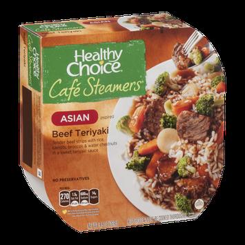 Healthy Choice Cafe Steamers Asian Inspired Beef Teriyaki