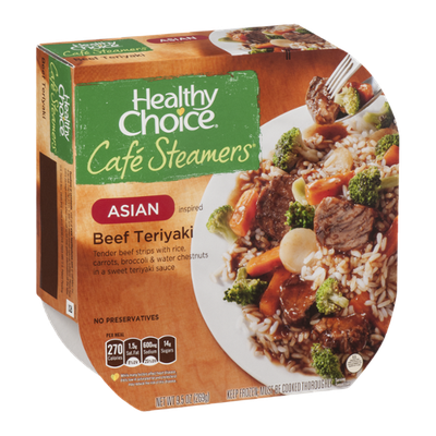 Healthy Choice Cafe Steamers Asian Inspired Beef Teriyaki