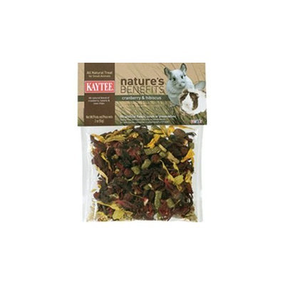 Kaytee Nature's Benefits Animals Treat Size: 3 Ounce, Flavor: Cranberry and Hibiscus