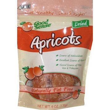 Good Sense Apricots, 6 Ounce Bags (Pack of 6)
