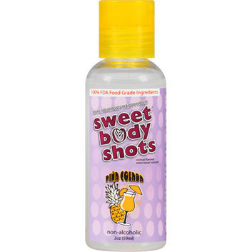OYes Sweet Body Shots Pina Colada Cocktail-Flavored Water-Based Lubricant
