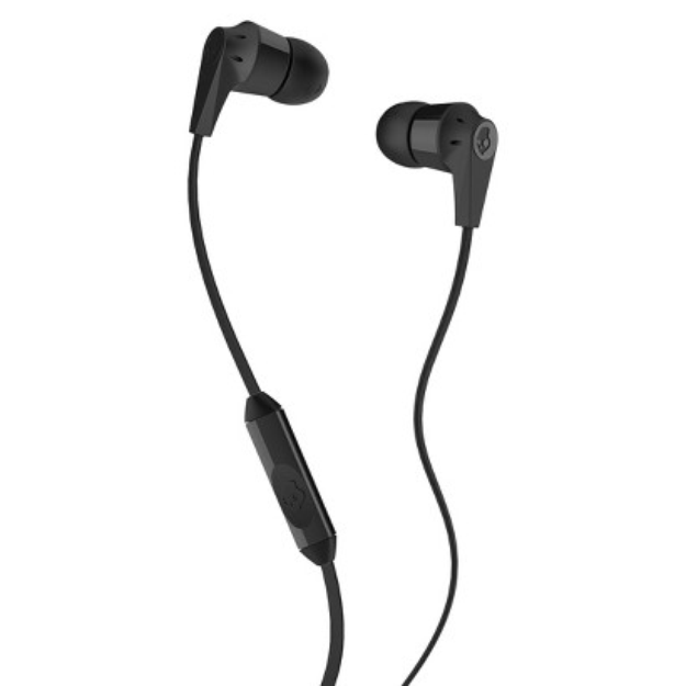 Skullcandy Ink'd 2.0 Mic'd Headphones with Mic - Black (S2IKDY-003)