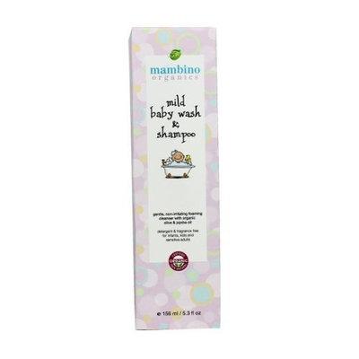Mambino Organics Mild Baby Wash and Shampoo