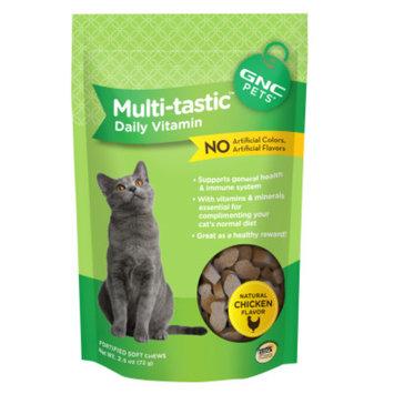 GNC Pets Multi-tastic Daily Vitamin Cat Treat