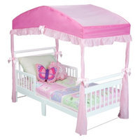 Delta Girls Toddler Bed Canopy - Pink