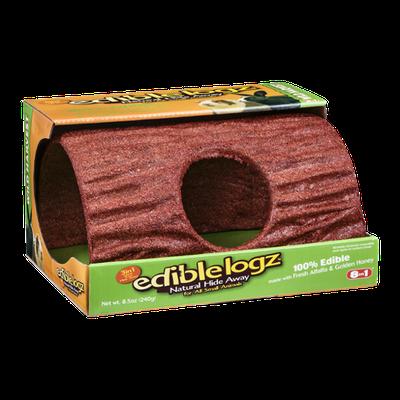 Edible Logz Natural Hide Away