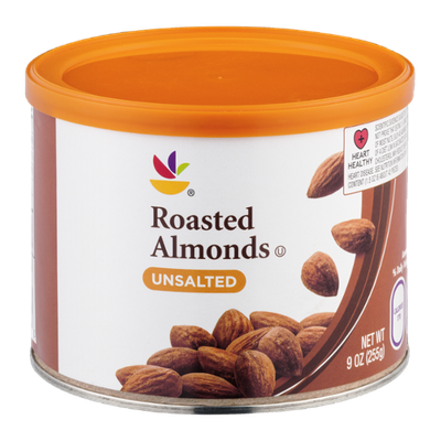 Ahold Roasted Almonds Unsalted